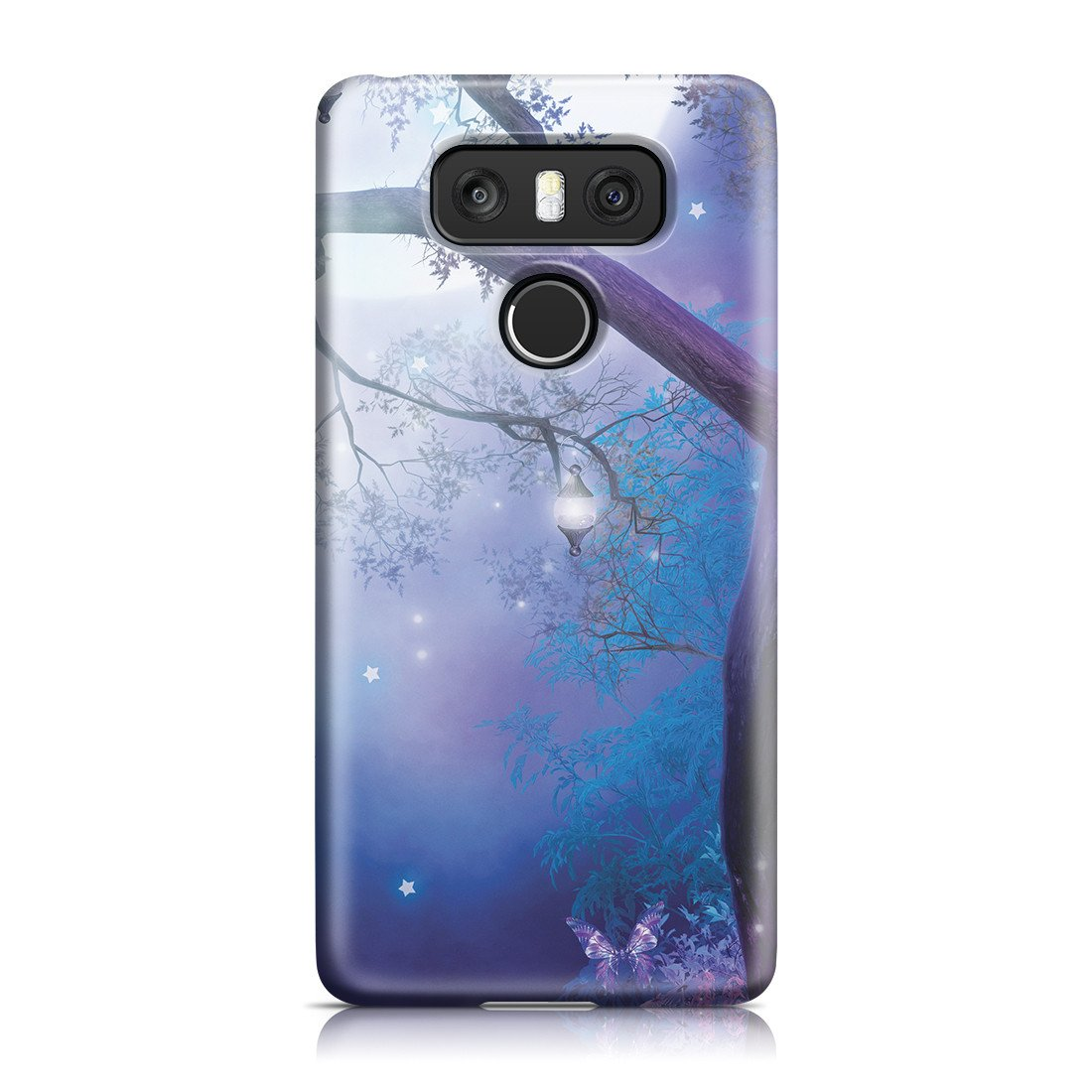 LG G6 Case - Moonlight Garden - High Resolution Graphics Printed with Non-Toxic Dye, Slim Profile while Still Guarding Against Impacts, Scratches and Debris (MATTE)