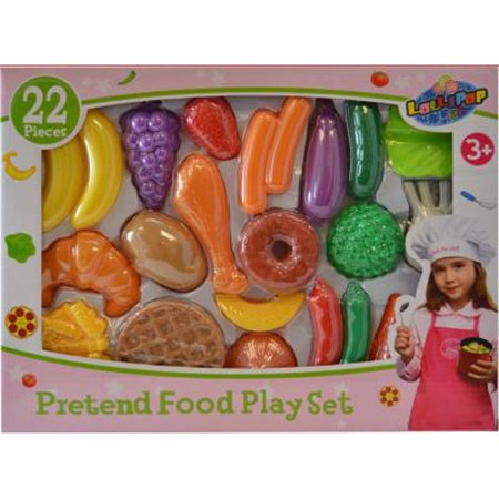 Lollipop   Funny Food Play Set   22 Pieces