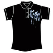 Korn  Logo Girls Jr Polo Shirt Black