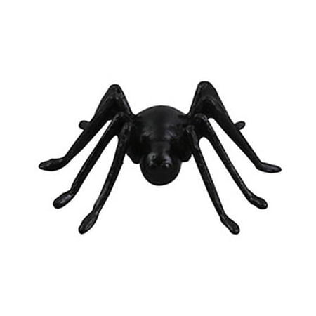 Halloween Black Spiders Cake Toppers - 4 count - National Cake Supply - Halloween Push Pop Cakes