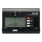 Korg GA50 Guitar Tuner Black
