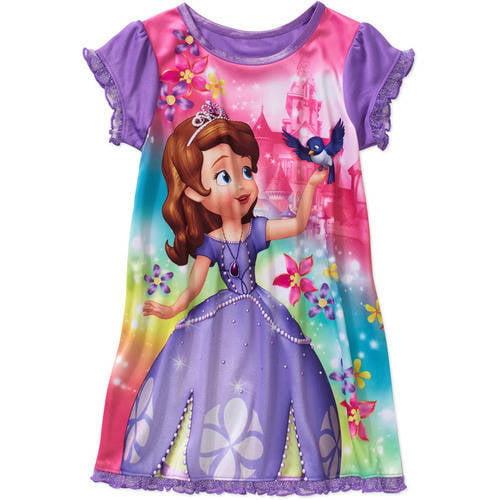 Toddler Girls Sofia Sleepwear