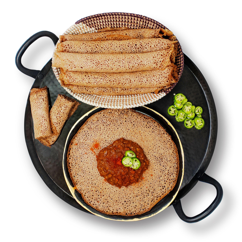 Takeout Kit, 4 Servings, Ethiopian Spiced Lentils (Misr Wat) Meal Kit