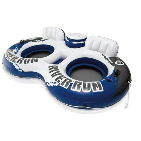 "Intex River Run II Sport Lounge, Inflatable Water Float, 95.5 "" X 62"""