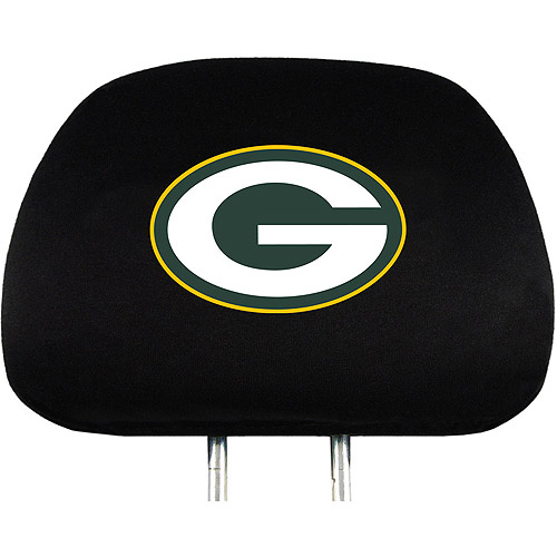 Green Bay Packers NFL Head Rest Cover