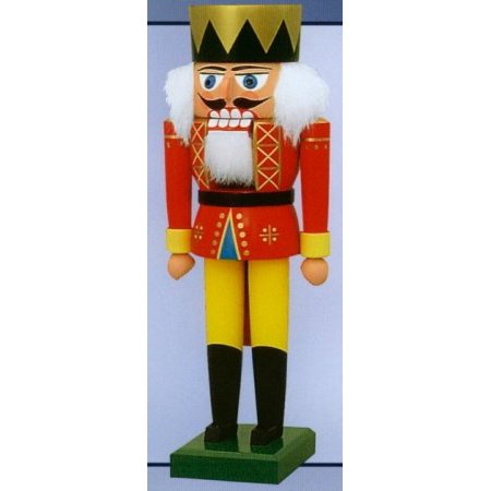 KWO King German Christmas Nutcracker 10 Inch Decoration Handcrafted in Germany