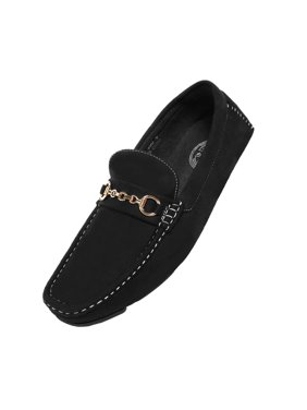e4b921256c3 Product Image Amali Men s Microfiber Slip-On Loafer with Chain Ornament