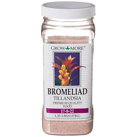 Image of 5118 Bromeliad Tillandsia Food 17-8-22, 1.25-Pound, Bromeliad By Grow More