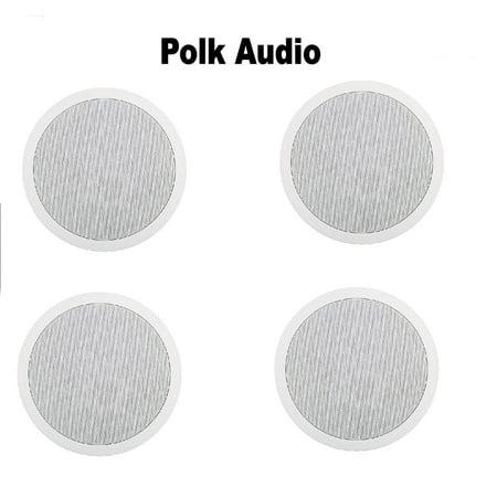 (2 Pairs) Polk Audio MC80 High Performance In-Ceiling Speaker Bundle