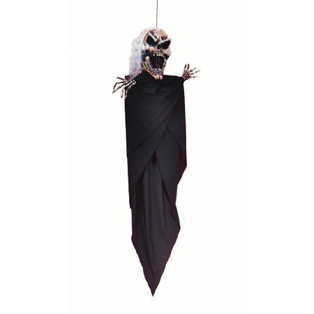 Loftus Skull Ghoul Halloween Haunted House 5' Hanging Prop, - Halloween Hanging Ghouls