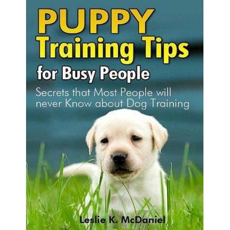 Puppy Training Tips for Busy People: Secrets That Most People Will Never Know About Dog Training - (Best Dogs For Busy People)