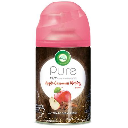 Air Wick Pure Freshmatic Automatic Spray Refill, Apple Cinnamon Medley, 5.89 oz