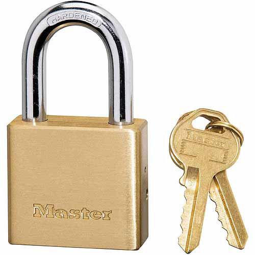 """Master Lock 575DPF 1-1/2"""" Solid Brass Padlock"""