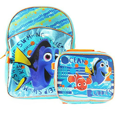 Just Keep Swimming Backpack & Detachable Lunchbox Set (Exclusive) - Backpack With Lunchbox