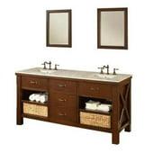Direct Vanity Sink Xtraordinary Spa 70D1 70 in. Double Bathroom Vanity