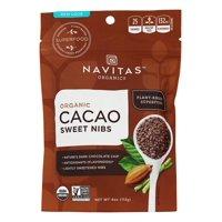 Navitas Naturals Cacao Nibs, Organic, Sweet, Raw, 4 Oz, 4 Oz, Pack Of 12