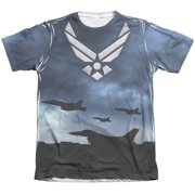 Air Force Take Off (Front Back Print) Mens Sublimation Shirt