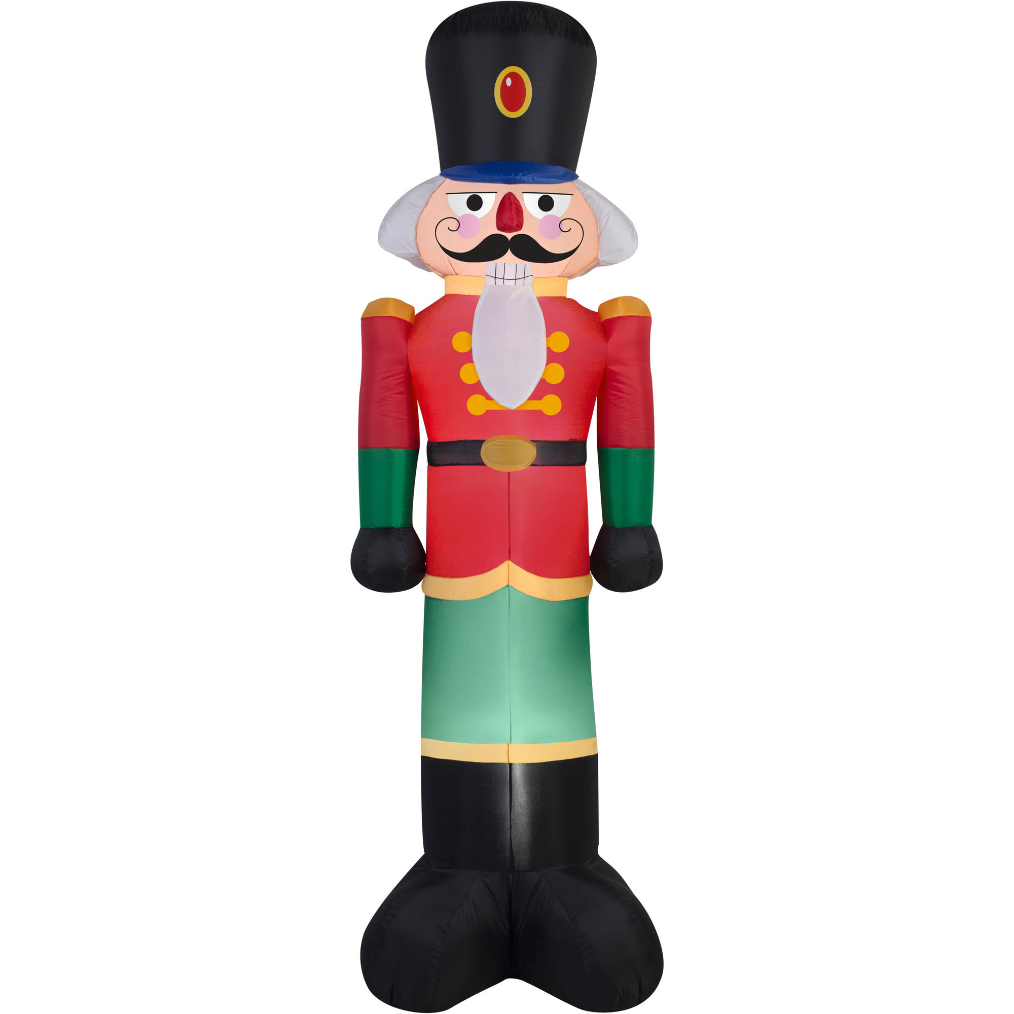 Gemmy Airblown Inflatables Christmas Inflatable Toy Soldier, 7 ...
