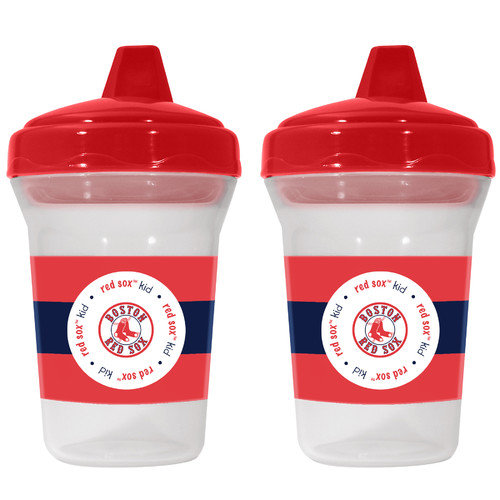 MLB Team 5-Ounce Sippy Cups, 2-Pack Multi-Colored