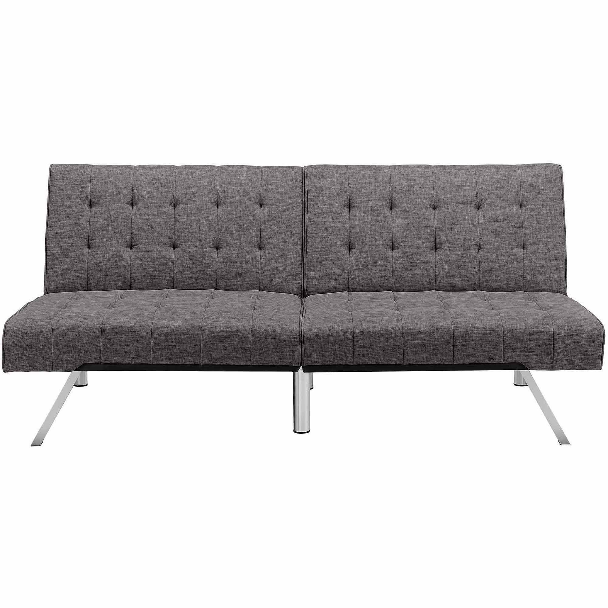 DHP Emily Convertible Futon Sofa Couch, Multiple Colors