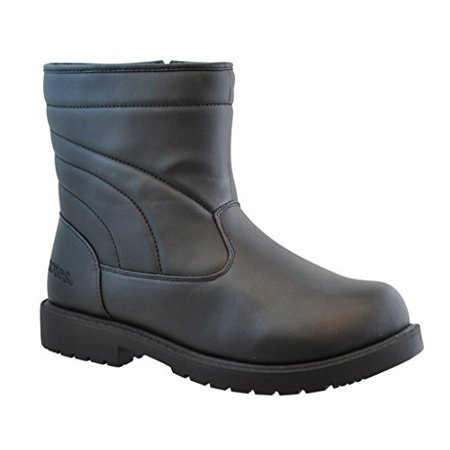 Totes Mens Suburb Short Snow Boot, Available in Wide Width