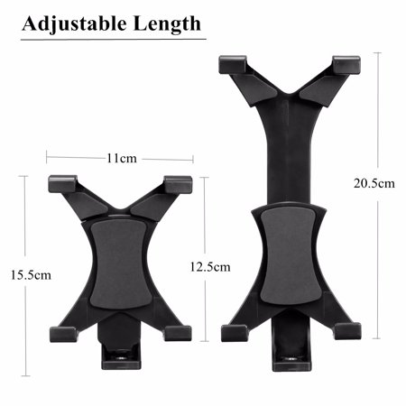 1/4'' Thread Tripod Mount Holder Stand Bracket Adapter For iPad Mini 4 3 2 1, For iPad Air / 2, ForSamsung Galaxy Tab 7~10.1'' Tablet PC - image 3 de 8