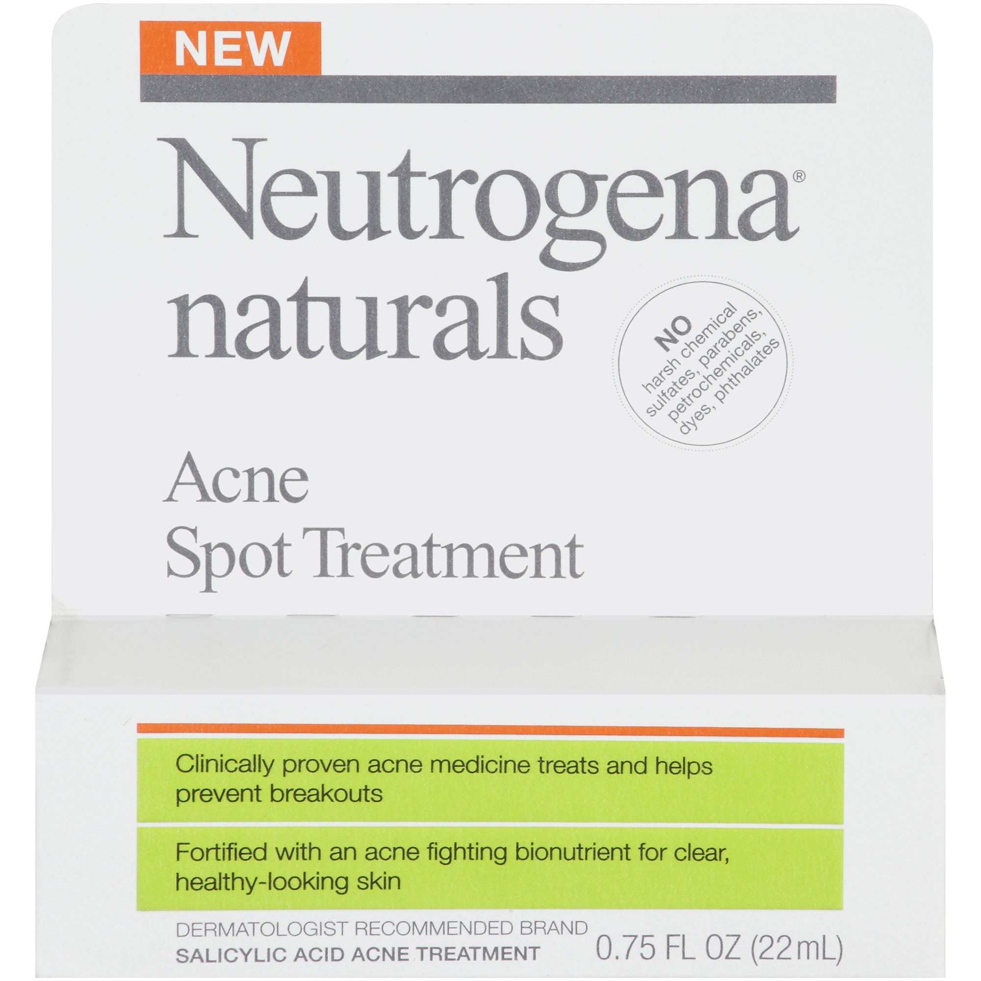 Neutrogena Naturals Acne Spot Treatment, 0.75 oz