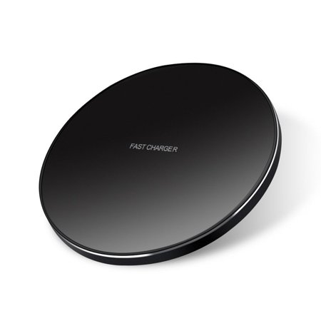 7.5W and 10W Fast Wireless Charger Charging Ultra Slim Pad for  Sprint Samsung Galaxy S6 Edge - T-Mobile Samsung Galaxy S6 Edge - Verizon Samsung Galaxy S6 - T-Mobile Samsung Galaxy (Samsung Galaxy S6 Edge Won T Charge)