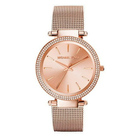 Women's Darci MK3369 Rose-Gold Stainless-Steel Quartz Fashion Watch