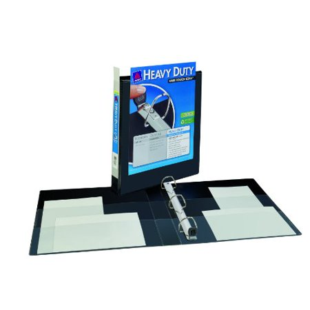 Avery Nonstick Heavy-Duty EZD Reference View Binder, 1 Inch, Black (79699
