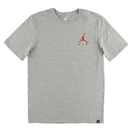 Jordan Mens All Day T Shirt Heather Grey