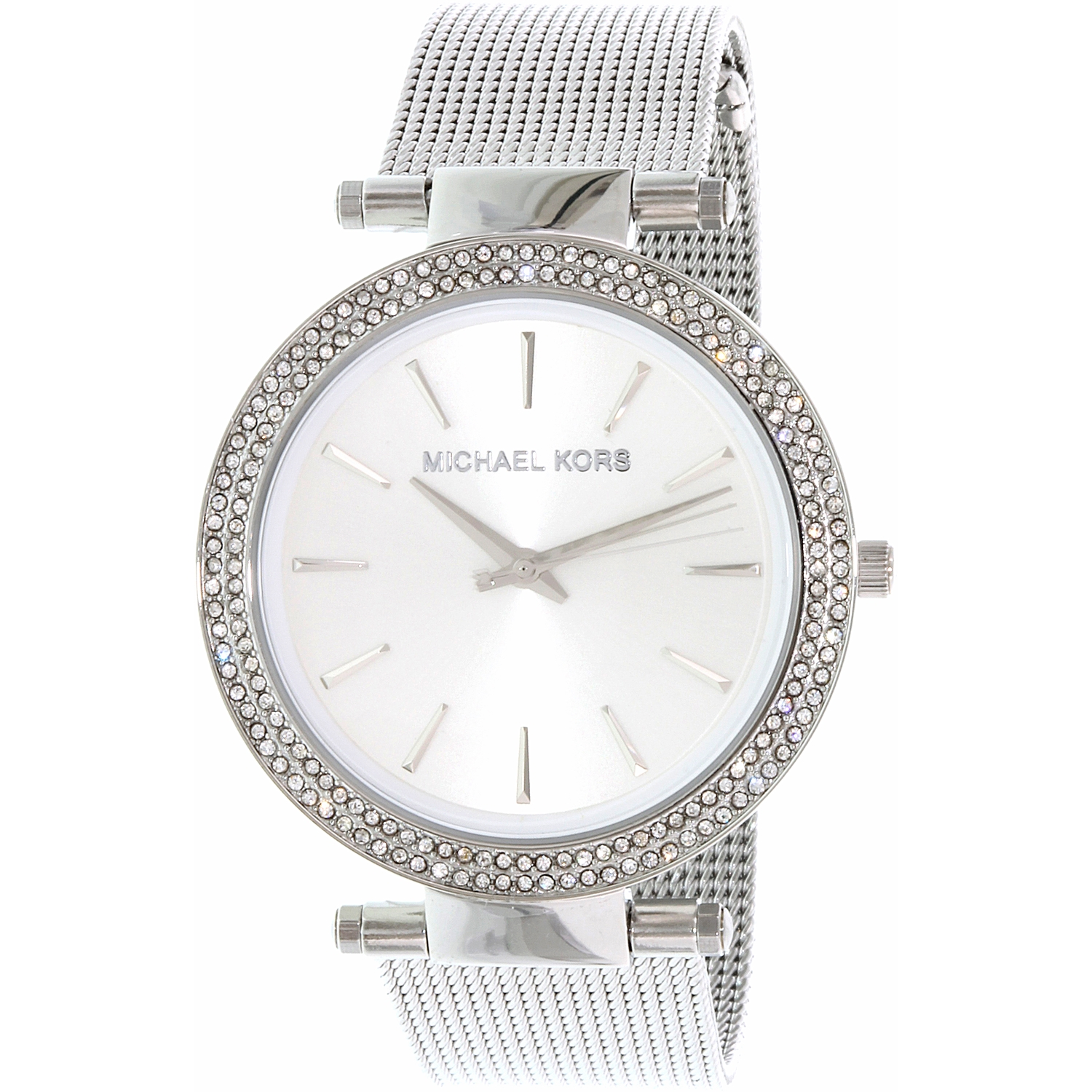 Michael Kors Women's Darci MK3367 Silver Stainless-Steel Quartz Fashion Watch