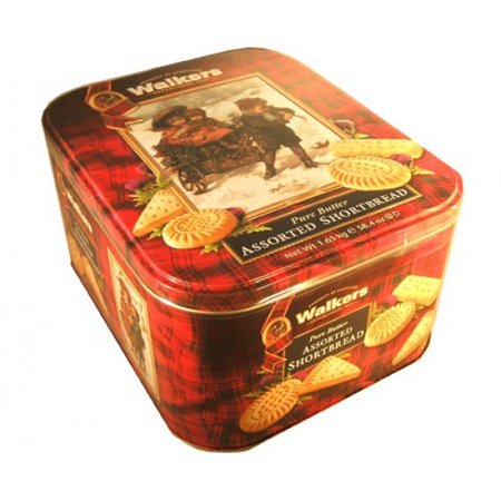 Walkers Scottish Pure Butter Assorted Shortbread Holiday Christmas Thanksgivi... ()