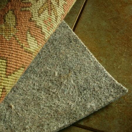 Surya Rugs 100  Felted Wool Reversible Rug Pad