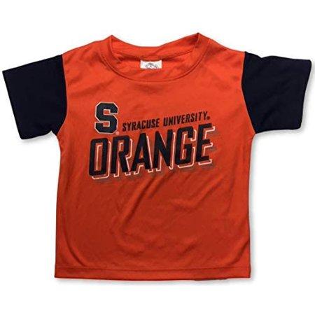 Rivalry Threads Syracuse University Orange Dri Fit Toddler Crew Neck T-Shirt Dri Fit Mock Neck Shirt