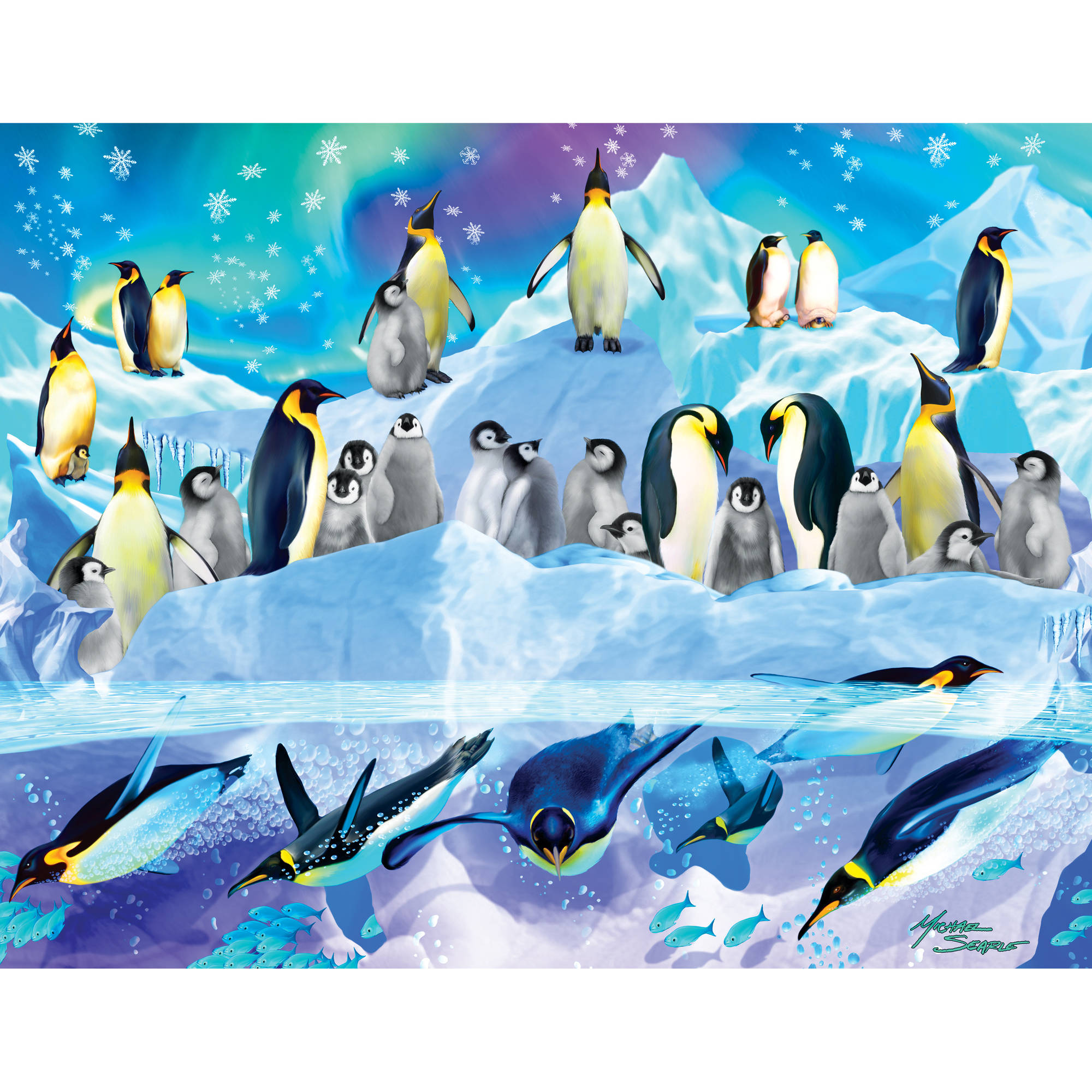 MasterPieces Penguins 100 Piece Puzzle
