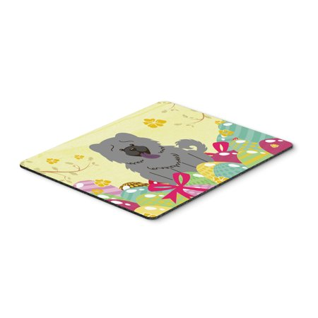 Easter Eggs Chow Chow Blue Mouse Pad  Hot Pad Or Trivet Bb6139mp