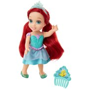 """Disney Princess 6"""" Petite Ariel Doll with Glittered Hard Bodice and includes comb"""