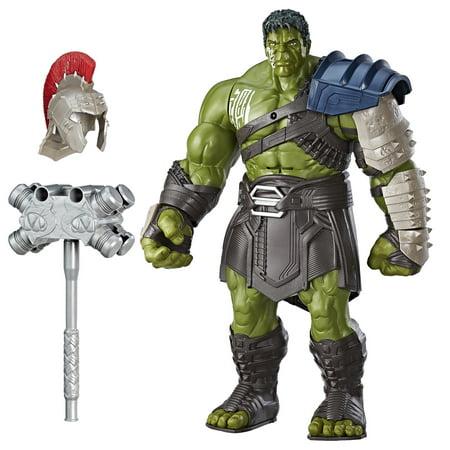 Marvel Thor: Ragnarok Interactive Gladiator Hulk](Kid Hulk Transformation)