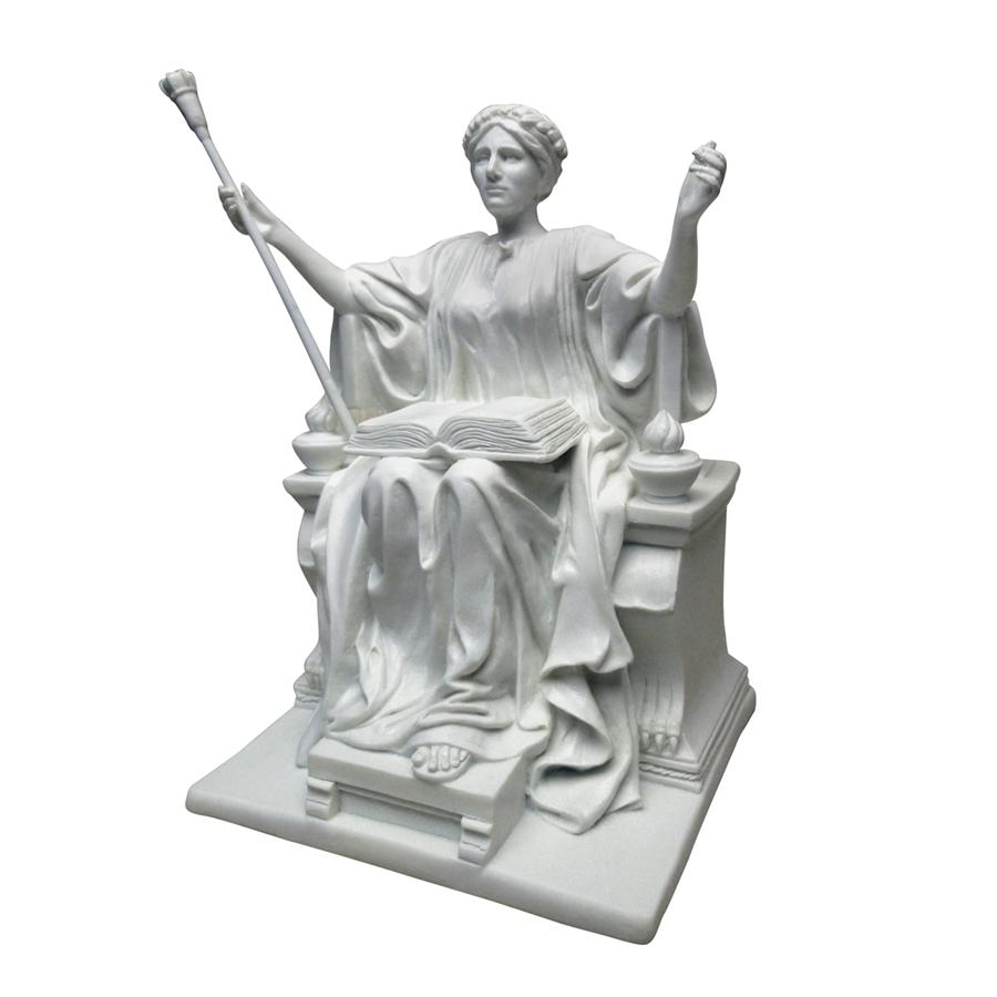 Alma Mater, 1904: Bonded Marble Resin Statue by Design Toscano