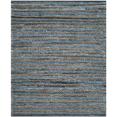 Safavieh Cape Cod 5' X 8' Hand Woven Rug in Blue and Natural - image 2 of 10