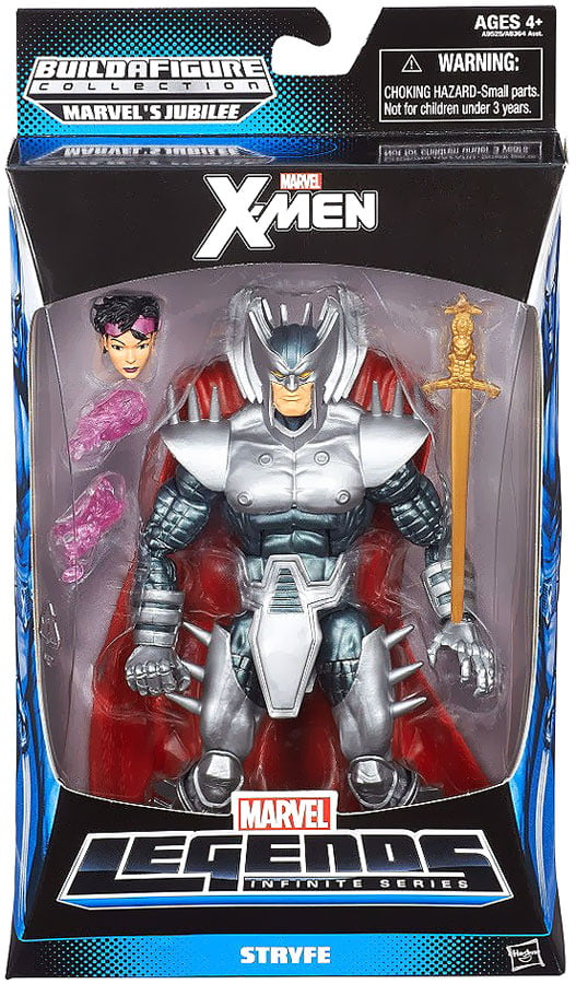 "Marvel X-Men Marvel Legends Infinite Series Jubilee Stryfe 6"" Action Figure by"