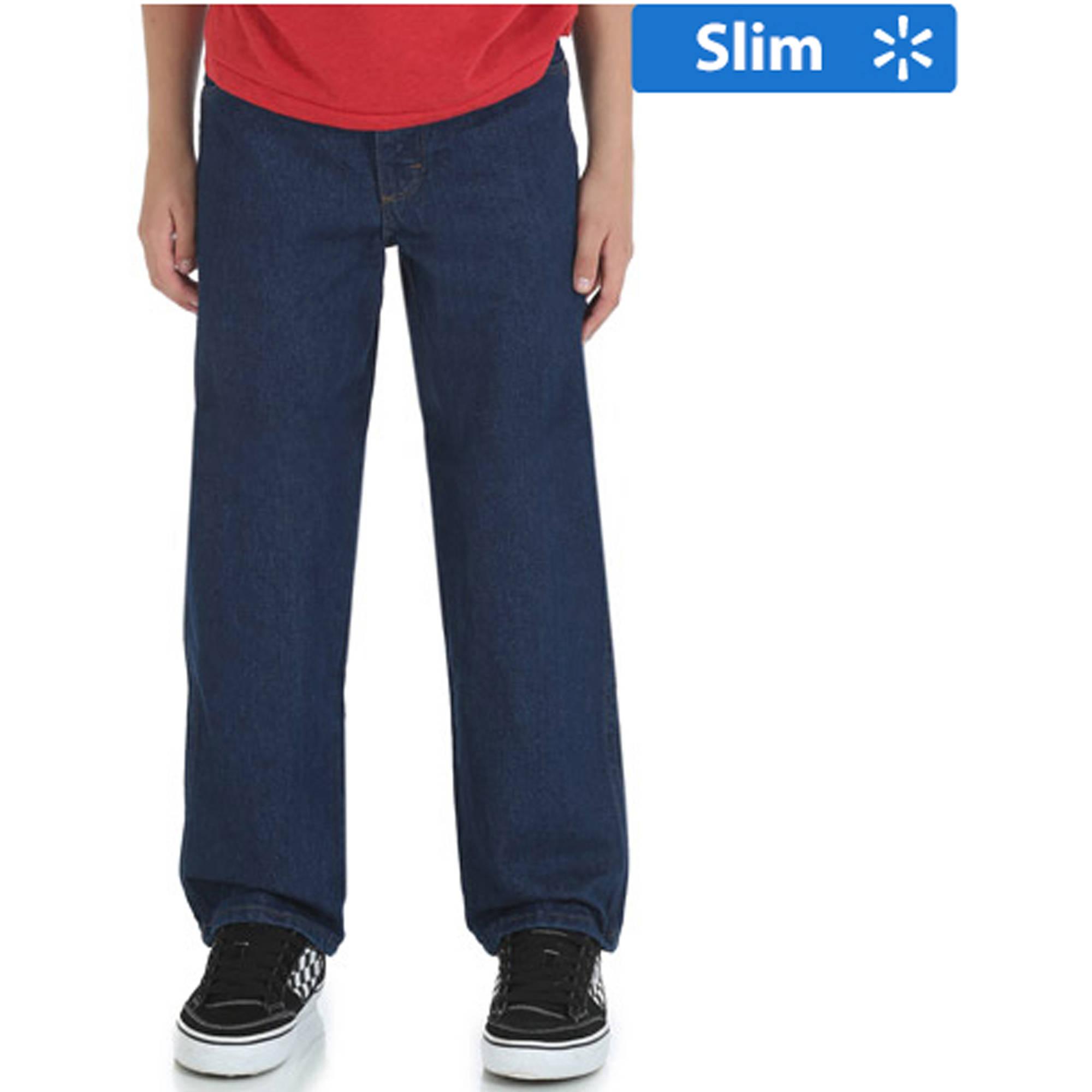 Rustler Slim Boys' Relaxed Jean