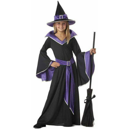Incantasia The Glamour Witch Girls' Child Halloween - Witch Girl Costume