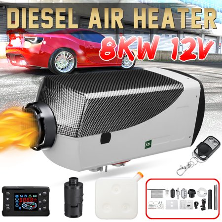 12V 8KW LCD Air Diese l Heater LCD Remote Control Thermostat For Cars Trucks Motor-Homes Boats Bus