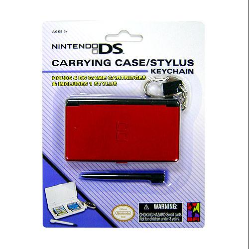 Nintendo DS Carrying Case / Stylus Keychain [White]