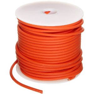 12 Ga. Orange Abrasion-Resistant General Purpose Wire (GXL) - (25 feet)