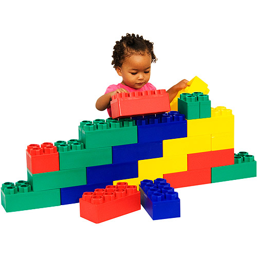 Kid's Adventure Jumbo Blocks Beginner Set, 24-Pieces