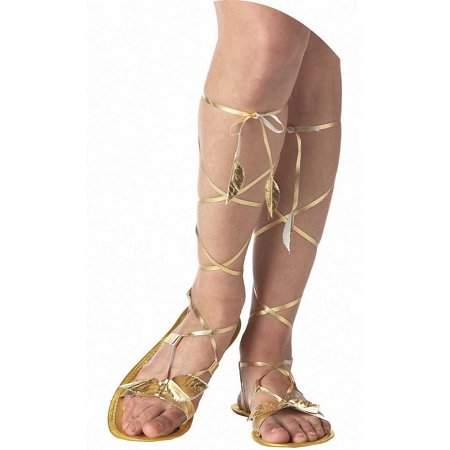 Adult Greek Goddess Shoes California Costumes 60367 (Adult Greek Goddess Costume)