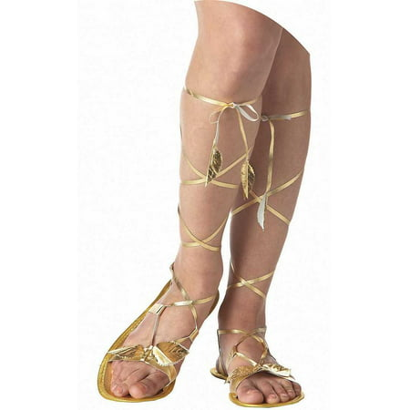 Adult Greek Goddess Shoes California Costumes 60367](Greek Costumes)